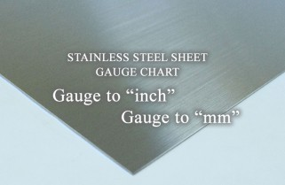 Gauge To Inch Gauge To Mm List For Stainless Steel Sheet Color Metals Com